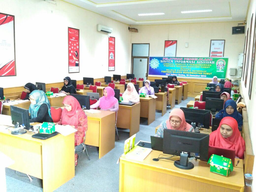 Pelatihan  Sistem Informasi Aisyiyah